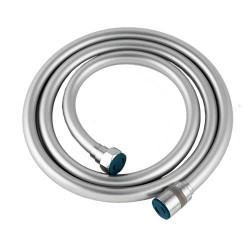 Flexible PVC LISSE SATIN en 1.5 m, 1.75 m et 2m , écrou anti torsion